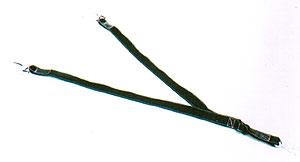 """Talabarte """"Y"""" em fibra sintética"""