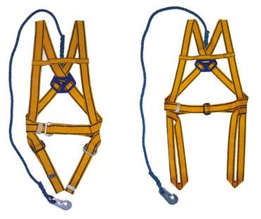 Cinturão de segurança, tipo paraquedista ou alpinista