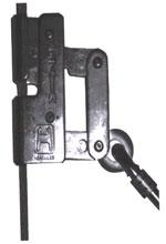 Trava quedas fabricado em aço inoxidável para uso em cabos de aço de 8mm